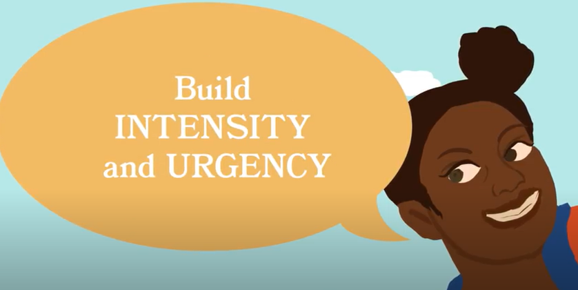 Machine generated alternative text: Build  INTENSITY  and URGENCY